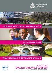 English Language Courses brochure 2014-15