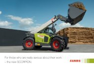 Info material - Claas