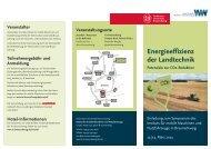 Energieeffizienz der Landtechnik Potenziale zur CO2 ... - Claas