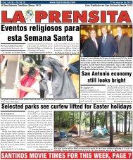 Eventos religiosos para esta Semana Santa - La Prensa De San ...