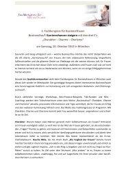 pressekontakt - Fachkongress für Business Frauen