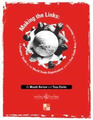 Making the Links: A Peoples - Public Citizen
