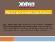 Marketing Communications Potential
