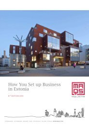 130104 how you set up business in estonia 2013.pdf ... - MAQS