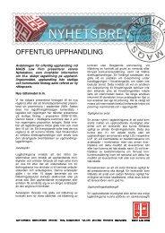 Nyhetsbrev offentlig upphandling juni 2010.pdf, 484.4 KB - MAQS
