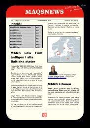 63_MAQSNEWS_NOVEMBER_2009_SWE.pdf, 323.2 KB