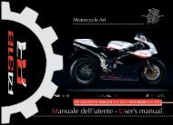 User's manual - MV Agusta