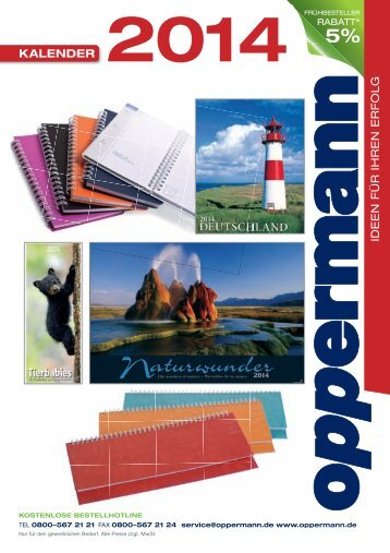 kalender mit - Oppermann