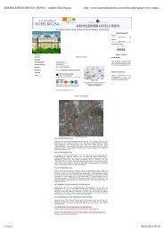 Anfahrt Hotel Regina - Pluradent Austria GmbH