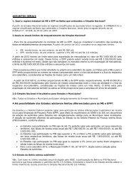 ASSUNTOS GERAIS - Secretaria da Fazenda do Estado da Bahia