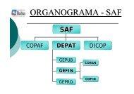 ORGANOGRAMA - SAF - Sefaz BA