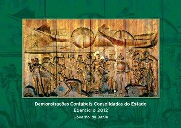 Balanço Geral do Estado - Sefaz BA - Governo da Bahia
