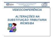 VIDEOCONFERÊNCIA ALTERAÇÕES NA ... - Sefaz BA