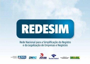 redesim - Secretaria da Fazenda do Estado da Bahia