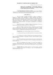 Decreto Nº 14.185 de 18 de outubro 2012 - Secretaria da Fazenda ...