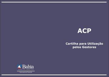 Cartilha ACP