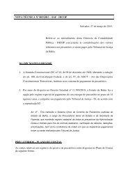 NOTA TÉCNICA Nº 005/2013 – SAF - DICOP Salvador ... - Sefaz BA