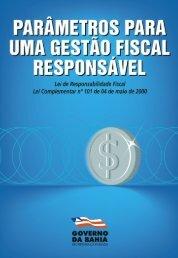 parâmetros para uma gestão fiscal responsável - Sefaz BA ...
