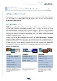 A) Organização do Consultor