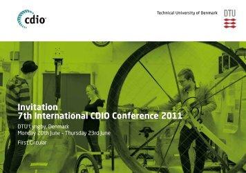 Invitation 7th International CDIO Conference 2011 - SEFI