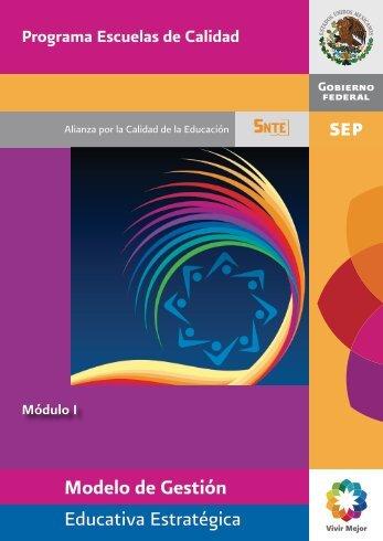 Modelo de Gestión Educativa Estratégica - Inicio