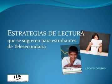 ESTRATEGIAS DE LECTURA_LUCERO LOZANO.pdf - Inicio