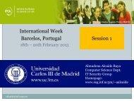 International Week Session 1