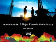 Independents: A Major Force in the Industry