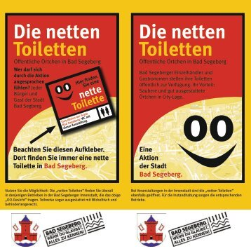 Die netten Toiletten Die netten Toiletten - Segeberg.info