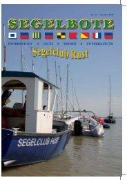 fahrtensegeln jois - SCR Segelclub Rust