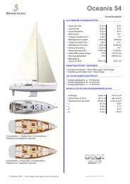 Oceanis 54 - Segel Sport Resch