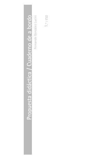 Propuesta didáctica / Cuaderno de a bordo - Sehacesaber.org