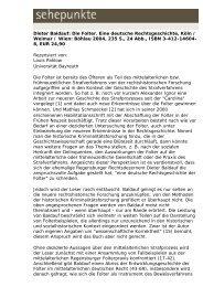 Dieter Baldauf: Die Folter. Eine deutsche ... - Sehepunkte