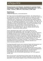 Michael Sommer: Die Phönizier. Handelsherren ... - Sehepunkte