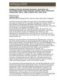 Wolfgang Kühnelt: Berühmte Dynastien. Geschichte ... - Sehepunkte