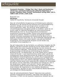 Constantin Goschler / Philipp Ther (Hg.): Raub und ... - Sehepunkte