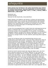 Debra Hamel: Der Fall Neaira. Die wahre Geschichte ... - Sehepunkte