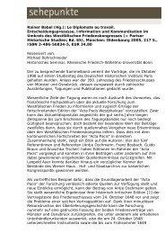 Rainer Babel (Hg.): Le Diplomate au travail ... - Sehepunkte
