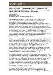 Bernd Stöver: Der Kalte Krieg 1947-1991. Geschichte ... - Sehepunkte