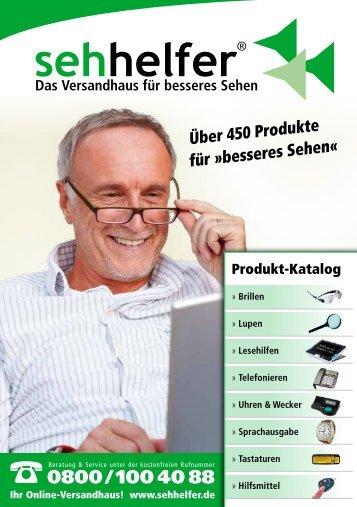 Über 450 Produkte für »besseres Sehen« - Sehhelfer