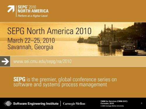 CMMI-SVC - Software Engineering Institute - Carnegie Mellon ...