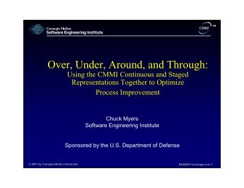 Over, Under, Around, and Through - Software Engineering Institute ...