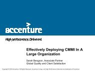 Effectively Deploying CMMI in a Large Organization - Software ...