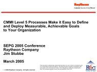 CMMI Level 5 Processes Make It Easy to Define and Deploy ...