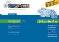 1. Loipen-Seminar - Seilbahn.net