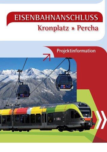 EISENBAHNANSCHLUSS Kronplatz » Percha - Seilbahn.net