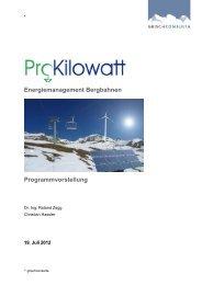 Energiemanagement Bergbahnen ... - Seilbahn.net