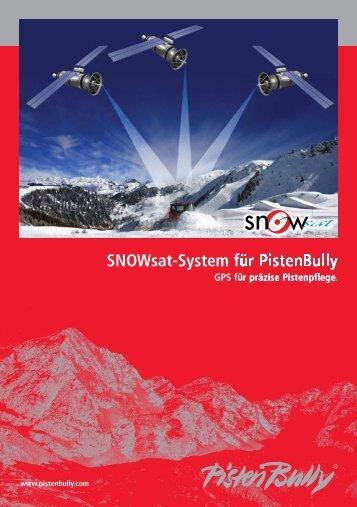 SNOWsat-System für PistenBully - Seilbahn.net