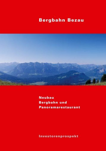 Bergbahn Bezau - Seilbahn.net