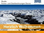 Die Ferien- und Zweitwohnungen in Davos - Seilbahn.net